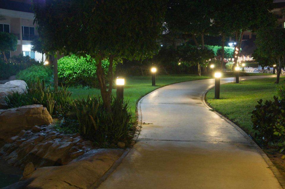 Éclairage paysager par Pro-Tech Lanaudière