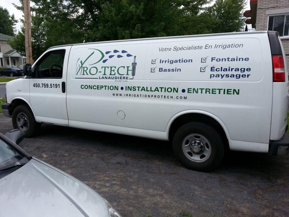 Unité de service de Irrigation Pro-Tech Lanaudière