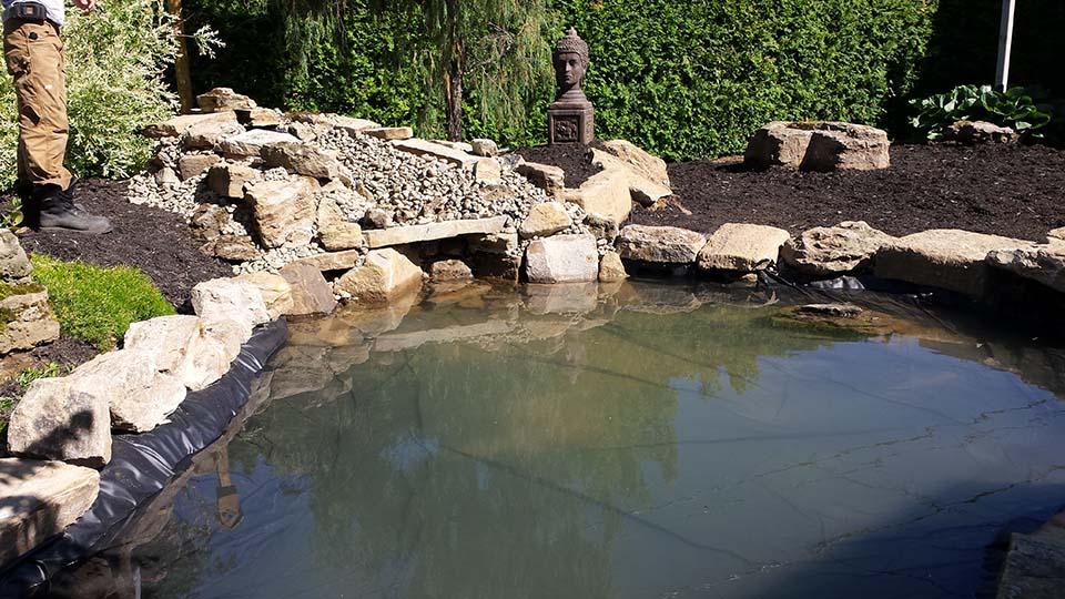 Bassin D. Fafard par Irrigation Pro-Tech Lanaudière