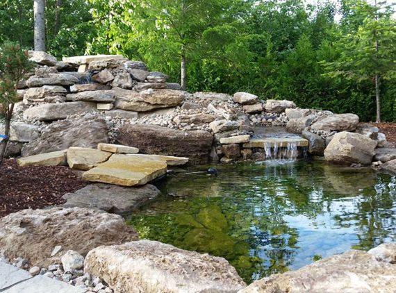 Bassin R. Desrosiers par Irrigation Pro-Tech Lanaudière