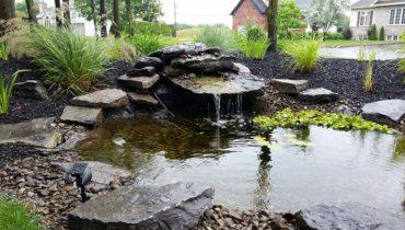 Bassin S. Martin par Irrigation Pro-Tech Lanaudière