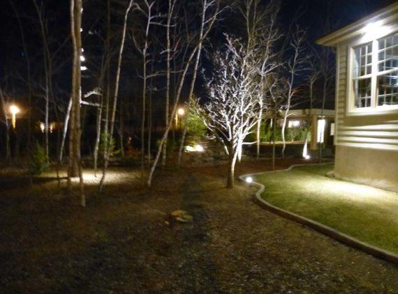 Éclairage R. Desrosiers par Irrigation Pro-Tech Lanaudière