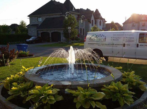 Fontaine V. Robergeau par Irrigation Pro-Tech Lanaudière